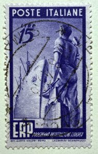 AlexStamps ITALY #516 VF Used
