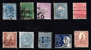 Australia>States & Territories> New South Wales USED STAMPS COLLECTION LOT