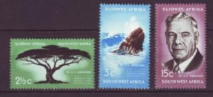 J19064 Jlstamps various 1967 south west africa set mnh #309-11 designs