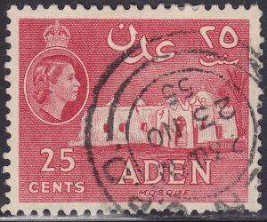 Aden 51a USED 1956 Mosque