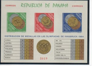 Panama 458Jk MNH imperforate ..