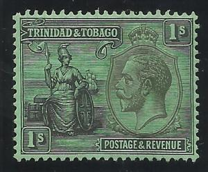 Trinidad and Tobago SC 29 1sh MH F/VF