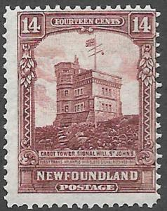 Newfoundland Scott Number 155 VGF H