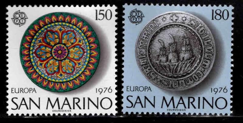 San Marino Scott 889-890 MNH** set