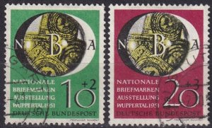 Germany #B318-9  F-VF Used  CV $80.00  (Z8041)