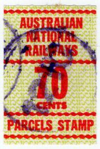 (I.B) Australia Railways - Australian National Railways 70c