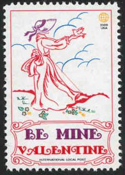 Valentines Day - Intl. Local Post #015 - MNH - Cinderella