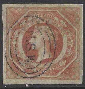 Australia - New South Wales 1854-1855 SC 31 Used SCV $145.00