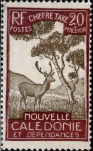 New Caledonia (NCE) Scott J24 MH* postage due stamp