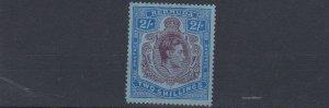 BERMUDA  1941  S G  116B  2/-  LINE PERF MH  CAT £350  TONED GUM