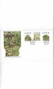 Jersey 396-8 EUROPA 86, FDC Jersey Post Office