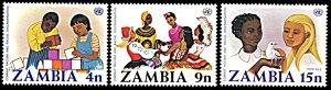 Zambia MNH 177-9 Combat Rascism