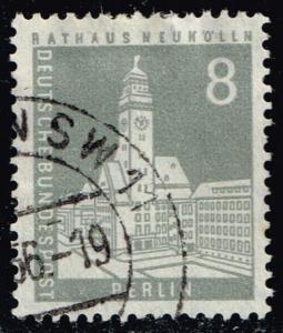 Germany #9N124 Neukoelin City Hall; Used (0.35)
