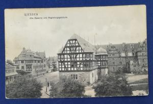 Germany Postcard With Stamps Postmarked in 1912 (HP19)