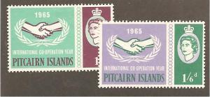 Pitcairn Is.  Scott #54-55 Mint H  Scott CV $14.35