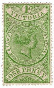 (I.B) Australia - Victoria Revenue : Stamp Statute 1d