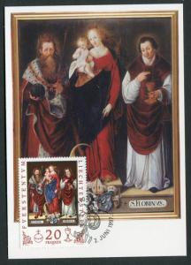 Liechtenstein #1099 Maxim Card Zumstein #1093MK