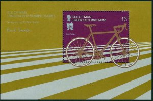 Isle of Man --2012-  LONDON OLYMPICS  MNH  Sheet  # 1478