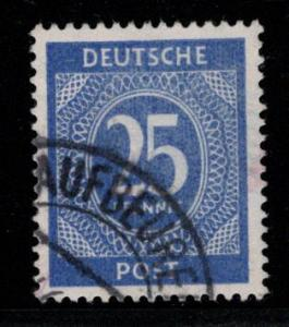 Germany AM Post Scott # 545, used