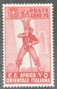 DYNAMITE Stamps: Italian East Africa Scott #11 – MINT