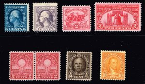 US STAMP 20th MINT STAMP COLLECTION LOT #M1
