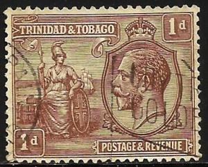 Trinidad & Tobago 1922 Scott# 22 Used