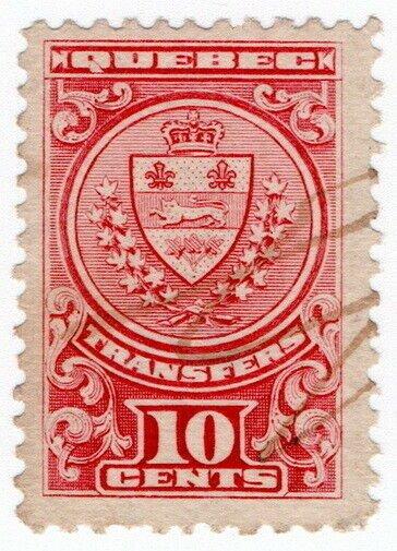 (I.B) Canada Revenue : Quebec Stock Transfer 10c