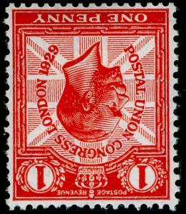 SG435Wi, 1d scarlet, NH MINT. Cat £35. WMK INV