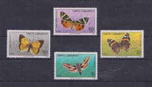 Turkey 2371-2374, MNH, Insects Butterflies 1987. x28028