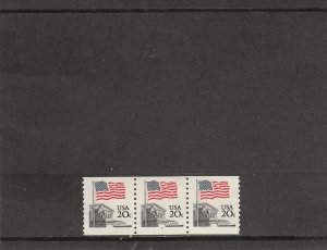 UNITED STATES 1895a MNH PLATE STRIP 3 PLATE 4 2019 SCOTT CATALOGUE VALUE $110.00