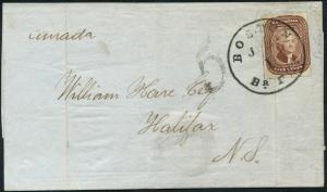 #12 ON COVER WITH DUBIOUS CANCEL & APS CERT HV4096A