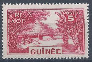 French Guinea - SC# 131 - MH - SCV $0.25