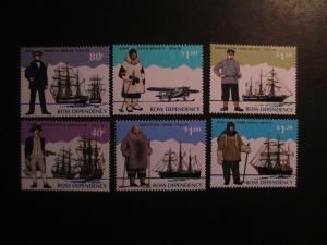 Ross Dependency #L31-36 Mint Never Hinged- (1D9) WDWPhilatelic 4