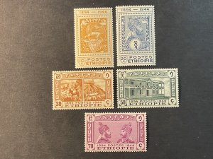 ETHIOPIA # 273-277--MINT NEVER/HINGED---COMPLETE SET----1947