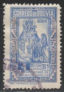 Bolivie  C122  (O)  1948  Poste aérienne