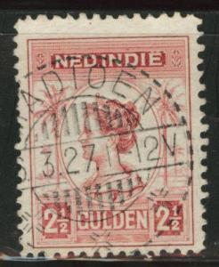 Netherlands Indies  Scott 136 used  from 1912-20 set