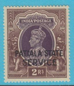 INDIA PATIALA O61 MINT HINGED OG * NO FAULTS EXTRA FINE !