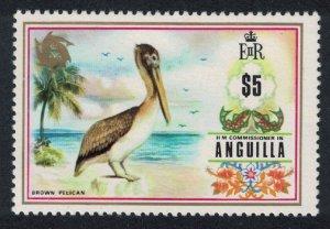 Anguilla Brown Pelican Bird 1v $5 KEY VALUE SG#144