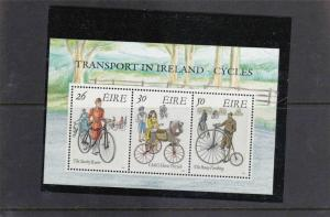 IRELAND VINTAGE CYCLES  IN IRELAND  STAMPS SHEET   REF 1669