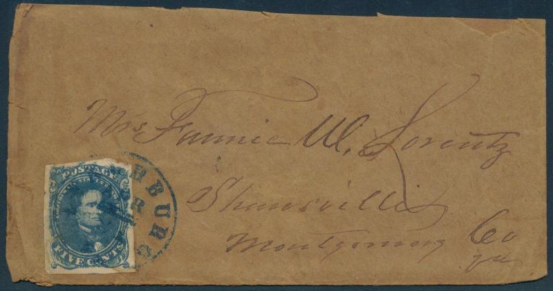 CSA #4 ON COVER WITH LONG DULL LETTER BQ9724
