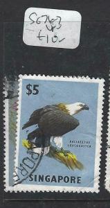 SINGAPORE  (P1404BB)  BIRDS  SG 76-7   VFU