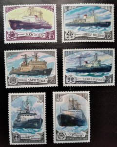 Ships, MNH,  collection