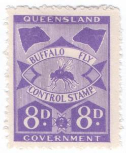 (I.B) Australia - Queensland Revenue : Buffalo Fly 8d