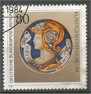 GERMANY, Berlin, 1984, used 80pf, Artwork, Scott 9N491