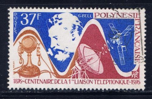 French Polynesia 291 Used 1976 issue
