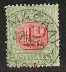 Australia Scott J40 Used postage due wmk 13 CV$10