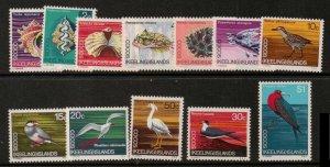 COCOS (KEELING) ISLANDS SG8/19 1969 DECIMAL CURRENCY MNH