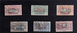 TRIPOLITANIA 1924 ALESSANDRO MANZONI SERIE COMPLETA 6 VALORI COMPLETE SET USA...