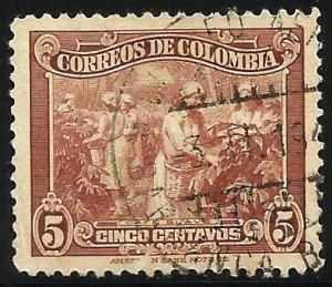 Colombia 1939 Scott# 469 Used