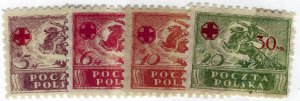 Poland SC B11-B14 Mint F-VF...Popular Country!